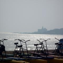 Pedalò sulle spiagge di Qingdao