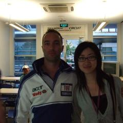 Interprete x Yamaha team con Max Montanari